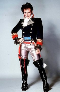 Listen to music from Adam Ant like Goody Two Shoes, Wonderful & more. Find the latest tracks, albums, and images from Adam Ant. Adam Ant, Recital, Ant Music, Montreux Jazz Festival, Don G, 80s Costume, Costume Ideas, Costume Box, Musica Pop