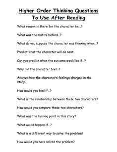 Higher Order Thinking Questions To Use After Reading.pdf