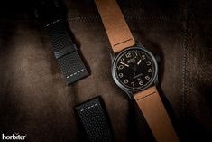 Mido Multifort Escape Horween Special Edition - The American-based leather atelier and the Swiss brand continue their successful collaboration
