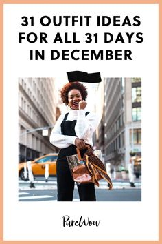 31 Outfit Ideas for All 31 Days in December style ideas 31 Outfit Ideas for All 31 Days in December December Outfits, Days In December, Spring Outfits, Winter Outfits, Work Outfits, Latest Winter Fashion, Latest Fashion For Women, Autumn Fashion, Best Spotify Playlists