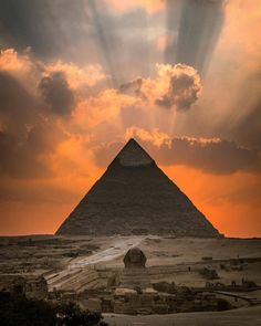 Sunset at the Pyramids of Giza, Egypt Photo by © Giza Egypt, Pyramids Of Giza, Ancient Egypt Pyramids, Ancient Egypt History, Egypt Art, Nature Photography, Travel Photography, Great Pyramid Of Giza, Visit Egypt