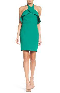 Main Image - Adelyn Rae Halter Sheath Dress