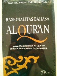 Buku rasionalitas bahasa al-Qur'an (buku tafsir)