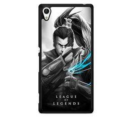League Of Legends Yasuo TATUM-6366 Sony Phonecase Cover For Xperia Z1, Xperia Z2, Xperia Z3, Xperia Z4, Xperia Z5