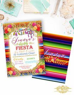 Invitación del cumpleaños de la Fiesta por LillysPartyBoutique