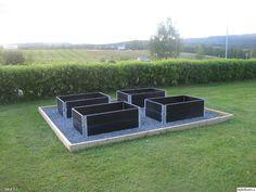 Backyard Vegetable Gardens, Herb Garden, Outdoor Furniture Sets, Outdoor Decor, Ping Pong Table, Summer Garden, Backyard Landscaping, Landscape Design, Outdoor Living