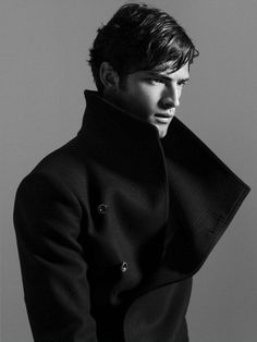 There's just something about men in high-collared jackets . . .