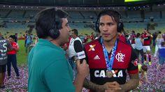 """Guerrero vibra com primeiro título pelo Flamengo: """"Incrível. Sensação única"""""""