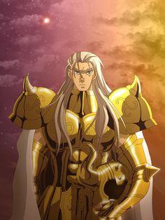 Saint Seiya - Gold Saint Taurus Rasgado by Erushido