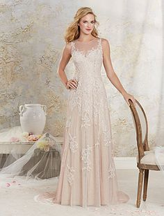 f3124686975 Alfred Angelo Bridal Style 8530 from Modern Vintage Bridal Gowns - A-line