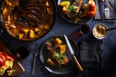 Milk-Braised Brisket with Potato & Onion recipe on Food52