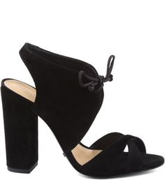 Sandália Lady Block Heel Black