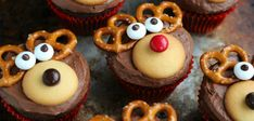 Recept: Rudolph the red-nosed cupcakes - Christmaholic.nl