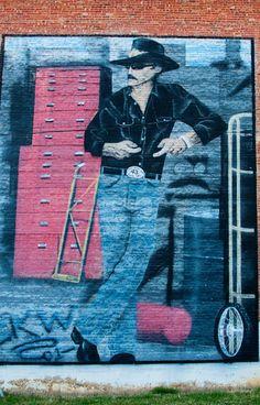 Mural at State Street Bristol, VA.
