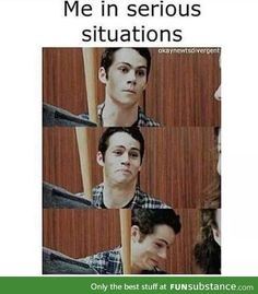 ImageFind images and videos about funny, lol and teen wolf on We Heart It - the app to get lost in what you love. All Meme, Crazy Funny Memes, Really Funny Memes, Stupid Memes, Funny Relatable Memes, Haha Funny, Funny Texts, Funny Jokes, Funny Life