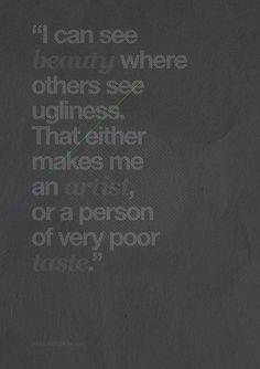 art beauty ans ugliness