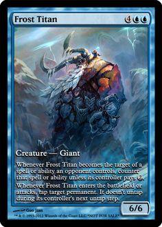Frost Titan alter