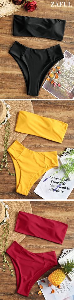 Up to 80% OFF! High Cut Bandeau Bathing Suit. #Zaful #Swimwear #Bikinis zaful,zaful outfits,zaful dresses,spring outfits,summer dresses,easter,super bowl,st patrick's day,cute,casual,fashion,style,bathing suit,swimsuits,one pieces,swimwear,bikini set,bikini,one piece swimwear,beach outfit,swimwear cover ups,high waisted swimsuit,tankini,high cut one piece swimsuit,high waisted swimsuit,swimwear modest,swimsuit modest,cover ups @zaful Extra 10% OFF Code:ZF2017