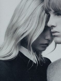 Natasha Poly and Yannick Mantele photographed by Willy Vanderperre for COS Magazine Fall/Winter 2008.