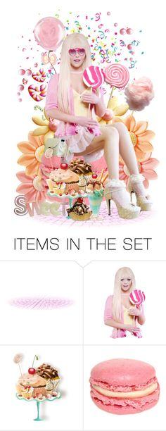 """""""Yummy Sweets"""" by victorianheaven ❤ liked on Polyvore featuring art"""