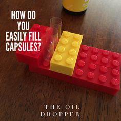 How do you fill your essential oil capsules? www.TheOilDropper.com