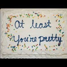 :D Cake! :I Oh.