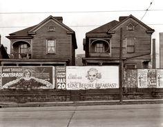 Houses in Atlanta    photo by Walker Evans, 1936