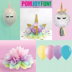 We have a full line of original unicorn products now available for your child's birthday party. Make it easy on you and unique. We're here to help! #unicorn #unicornbirthdayparty #unicornhorn #unicornlove #pastel #girlsbirthday #partyideas #birthdayidea