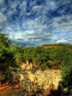 Hidden Ancient City, Phaselis, Antalya, Turkey