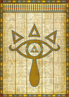 The Elemental Eye of Sheikah (Legend of Zelda) by enthousiasme