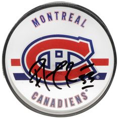 Patrick Roy Montreal Canadiens Autographed Acrylic Hockey Puck- Upper Deck - $249.99