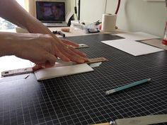 How to trim sections to size without a cutter
