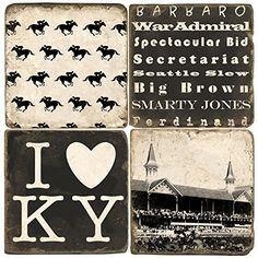 Black & White Kentucky Derby Drink Coasters Studio Vertu http://www.amazon.com/dp/B00FLYZAK0/ref=cm_sw_r_pi_dp_uGz4wb0C59F44