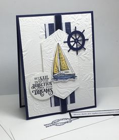 Masculine Birthday Cards, Birthday Cards For Men, Handmade Birthday Cards, Masculine Cards, Birthday Greeting Cards, Nautical Cards, Beach Cards, Boy Cards, Stamping Up Cards
