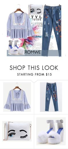 """""""ROMWE 3/XI"""" by saaraa-21 ❤ liked on Polyvore featuring Givenchy and romwe"""
