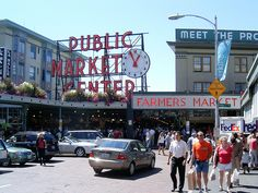 Pike Place Market by krisheding, via Flickr