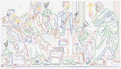 Mr L'Agent / Illustration / Jordy van den Nieuwendijk / Bloomberg