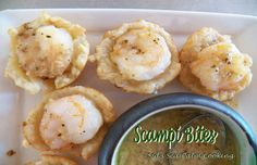 Sid's Sea Palm Cooking: Scampi Bites for Healthy Solutions Spice Blends