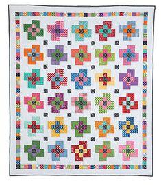 9 Patch Quilt, Strip Quilts, Quilt Blocks, Scrappy Quilts, Missouri Quilt Tutorials, Plus Quilt, International Quilt Festival, Fat Quarter Quilt, How To Finish A Quilt