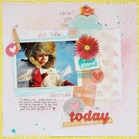 A Project by sophie crespy from our Scrapbooking Gallery originally submitted 02/26/13 at 11:45 AM