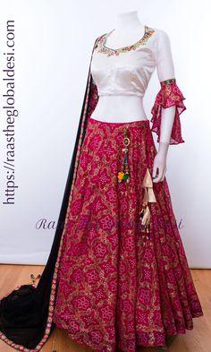 Stylish Dresses For Girls, Stylish Dress Designs, Designs For Dresses, Indian Fashion Dresses, Indian Designer Outfits, Indian Outfits, Choli Designs, Lehenga Designs, Blouse Designs