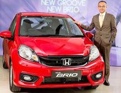 Honda Car India Launches 2016 Brio with Starting Price of Rs. 4.69 lakh Click here to read complete story....https://goo.gl/2jQKoi #Brio #2016Brio #FaceliftBrio