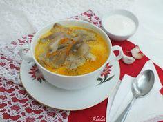 Aleda konyhája: Laskagomba leves avagy a vegetáriánus pacalleves