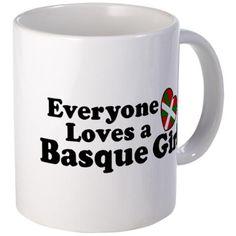Everyone Loves a Basque Girl Mug