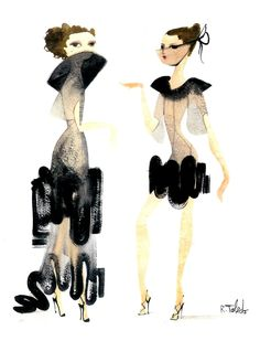 >>>Gosh is this Isabel Toledo? Would love to see the finished product! Fashion Illustration Sketches, Fashion Sketches, Illustration Art, Isabel Toledo, Art Shed, Girly, Fashion Art, Fashion Design, Fashion Trends