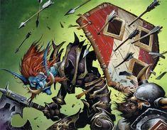 #wowtcg #warcraft #dwarf #nain #troll #warrior #guerrier