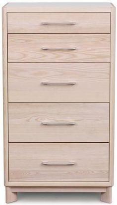 Copeland Furniture Contour - 5 Drawer Dresser