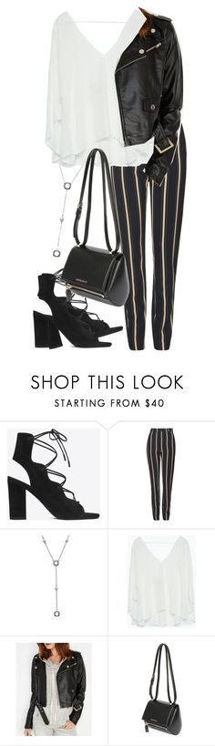 """Untitled #1760"" by itsmeischoice on Polyvore featuring Yves Saint Laurent, Topshop, Tiffany & Co., Zara, Wet Seal, Givenchy, women's clothing, women's fashion, women and female"