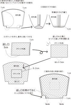 マリメッコバッグ。手づくりレシピをご紹介しています。そーいんぐ.comは、手づくりファンのための情報サイトです。 Leather Bag Pattern, Bag Pins, Handmade Dresses, Handmade Design, Diy And Crafts, Tote Bag, Sewing, Projects, Bags