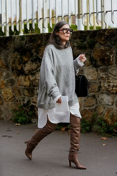 (notitle) - Outfit Inspirationen Herbst/Winter - The Fashion Looks Street Style, Looks Style, Style Me, Fashion Weeks, Fashion Outfits, Womens Fashion, Mode Streetwear, Casual Look, Mode Inspiration